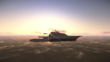 Yacht — Stock Video