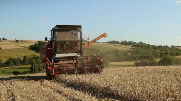 Machines de récolte — Vidéo