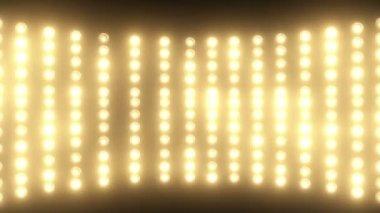 Floodlights flash — Stock Video