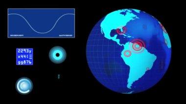 Radar layout — Stock Video