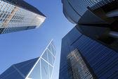 Hong kong corporate byggnader — Stockfoto