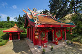 Red Temple — Stock Photo