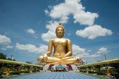 ムアン寺, アーントーン, タイで大仏 — ストック写真