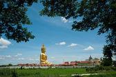 Big Buddha at Muang temple, Angthong, Thailand — Stock Photo