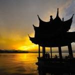 Chinese pagoda — Stock Photo #43911589