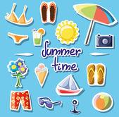 Summertime — Stock Vector