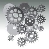 Gear machine — Stock Vector