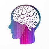 Imagination intelligence — Stock Vector