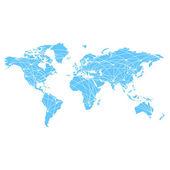 World wide web — Vecteur