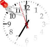 Office clock — Stock Vector