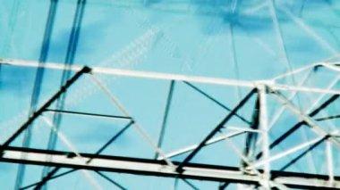 Power Lines — Stock Video
