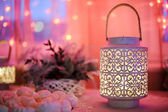 Scenery with a lamp — Stock Photo