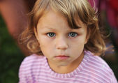 Sincere look of the child — Stock Photo