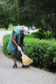 Street cleaning — Foto Stock