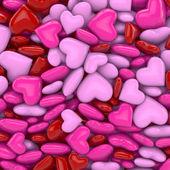 3D - Hearts 02 — Stock fotografie