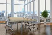 3d - escritório em paris 01 — Foto Stock