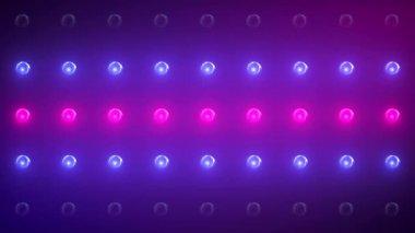 VID - Wall Of Lights VIII — Stock Video