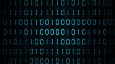 VID - Access Denied (Binary Code II) — Stock Video