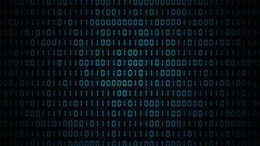 VID - Binary Code (II) — Stock Video
