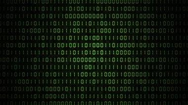 VID - Binary Code (I) — Stock Video
