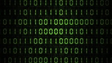 VID - Hacked (Binary Code I) — Stock Video