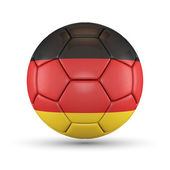 3D - Football - Germany — Foto de Stock
