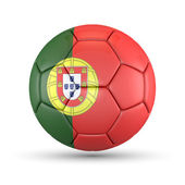 3D - Football - Portugal — Foto de Stock