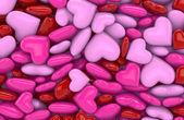 3D - Hearts 1 — Stock Photo