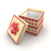 3D - Christmas Gift Box 2 — Stockfoto