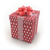 3D - Christmas Gift Box — Stock Photo