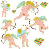Cupid art — Stock Photo