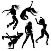 Mädchen-Tänzerin — Stockfoto