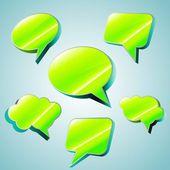 Dialoge значок — Cтоковый вектор