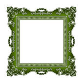 Frame old ornament — Stok Vektör