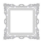 Frame old ornament — Vector de stock