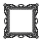 Frame old ornament — Stock Vector