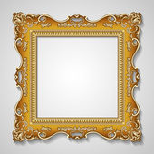 Frame old ornament — Vettoriale Stock