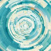 Vector de fondo abstracto semitono círculo — Vector de stock