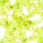 Estrellas de fondo decorado — Vector de stock
