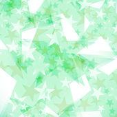 Hintergrund dekoriert sterne — Stockvektor