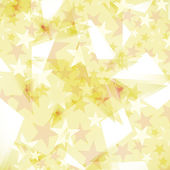 Background decorated stars  — Stock Vector