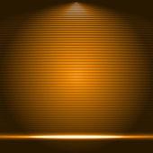 Ilustración de vector de podio escenario iluminado — Vector de stock
