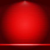 Illuminated stage podium vector illustration — Stock Vector