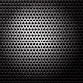 Resumen metálico elegante fondo, círculos del vector — Vector de stock