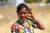 Rajasthan girl — Foto Stock