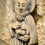 St. John Baptist statue — Stok fotoğraf
