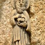 St. John Baptist statue — Stock Photo