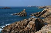 Wild coast, Quiberon peninsula, Brittany, France — Stockfoto