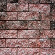 Close up of a Brick-Wall Used as a Texture Background — Stock Photo