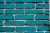 Textura de la pared de ladrillo azul grunge, paredes de ladrillo azules sobre un fondo blanco — Foto de Stock